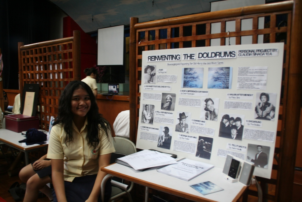Ib Myp Personal Project Exhibition 2010 Teaching And Learning In Indonesia