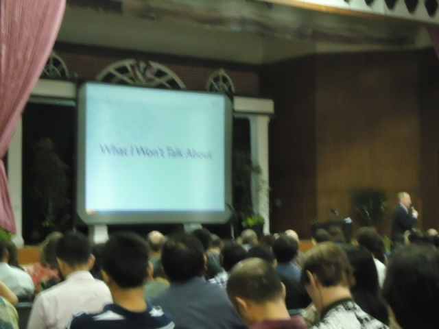 Keynote Speaker Dr Stephen Druggan from JIS