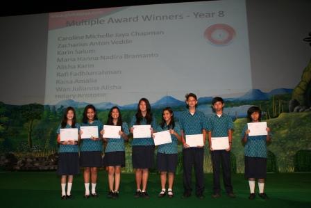 Multiple Award Winners Academic Excellence GJIS 2012 Semester One1
