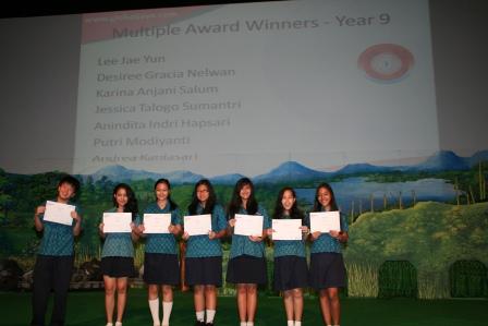 Multiple Award Winners Academic Excellence GJIS 2012 Semester One3