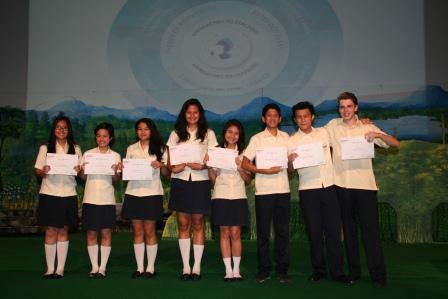 Multiple Award Winners Academic Excellence GJIS 2012 Semester One8