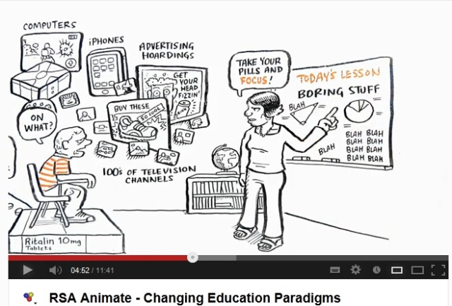 RSA Animate how do we teach