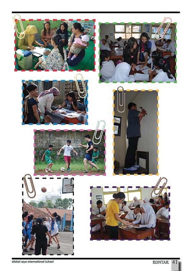 community and service pics at GJIS