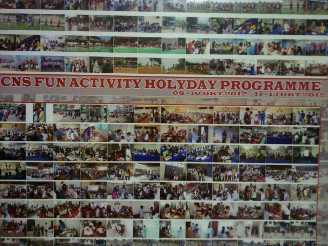 cns holiday programme at GJIS