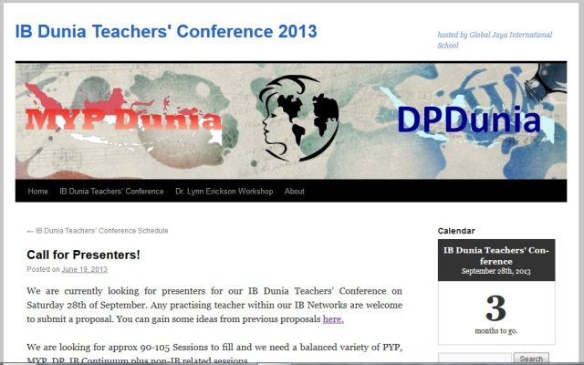 IB Dunia Teachers Conference Blog