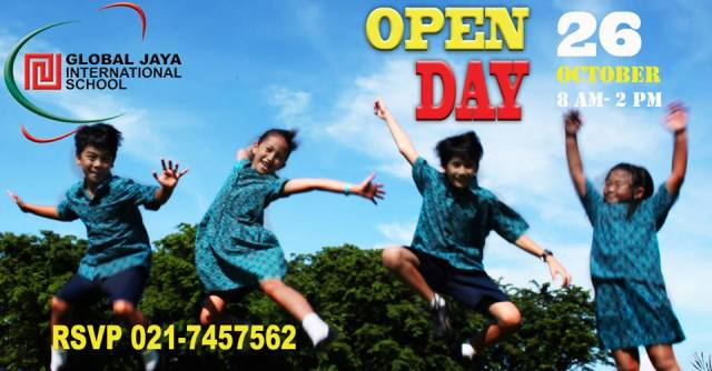 global jaya open day 2013
