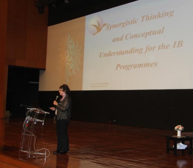 Lynn Erickson IB Dunia Teachers' Conference GJIS 12