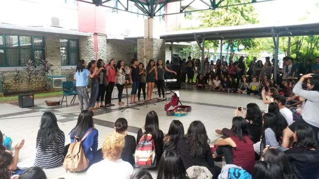 GJIS Student Council Open Mic for Philippines Charity Event and casual clothes day