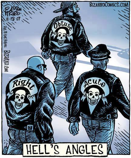 From Dan Piraro Bizarro Comics Hells Angles