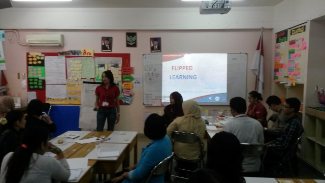 flipped classroom presentation by B.Vica