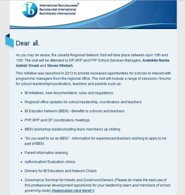 IB email