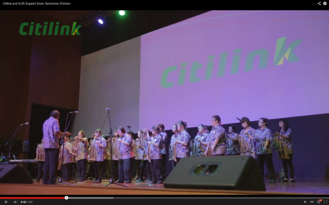 A Service project at GJIS: Assisting Down Syndrome students to produce a concert at GJIS 2014