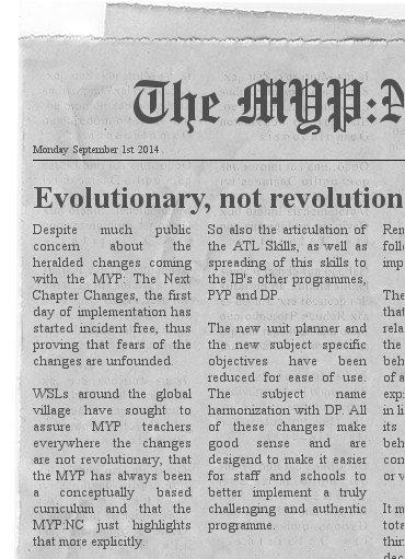 MYP Newspaper