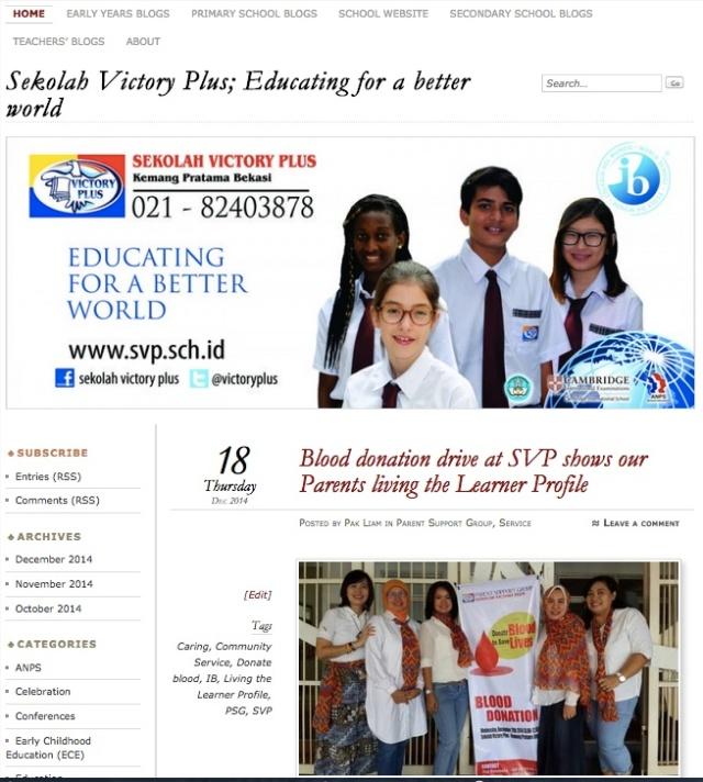 SVP blog