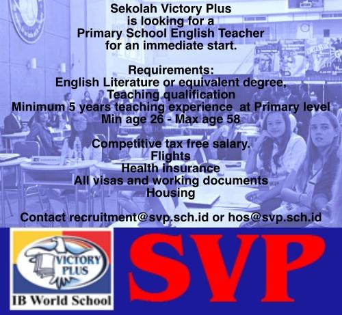 SVP Job Vacancy English teaching.jpg
